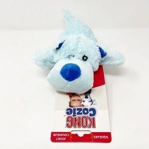 Kong Dog Toy Cozie Blue Size Medium Cozie